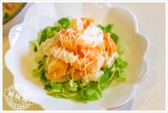 PAPAYA泰-泰式料理鳳梨毛丹蝦球