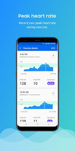 Samsung HeartWise 2.3.10041 screenshots 2
