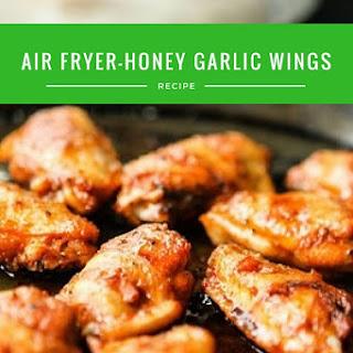 Air Fryer-Honey Garlic Wings Recipe