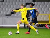 """🎥 L'interview """"malaise"""" d'Erling Braut Haaland après Bruges-Dortmund"""