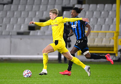 Erling Haaland a (encore) battu un record face au Club de Bruges