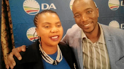 DA member Ntombenhle Rulumeni and party leader Mmusi Maimane. Rulumeni was 'deeply hurt and felt unfairly treated by the agents of her own organisation,' said a high court judge.