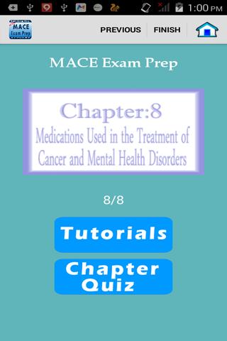 MACE試験の準備