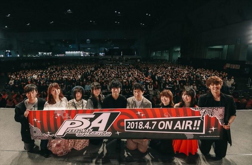 【Anime Japan 2018舞台報導】全球銷量200萬部以上  遊戲《女神異聞錄5》動畫化宣傳舞台