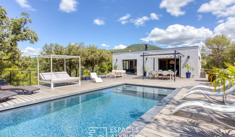 Maison avec piscine et terrasse Mollans-sur-Ouvèze