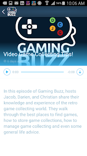 Gaming Buzz- screenshot thumbnail