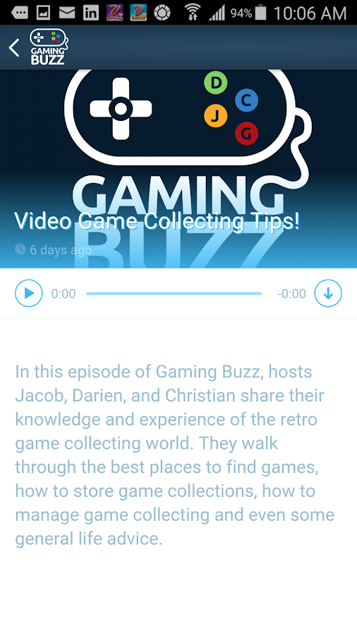 Gaming Buzz- screenshot