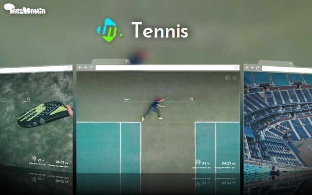 Tennis Backgrounds & New Tab