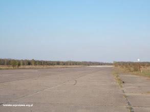 Photo: Duży pas startowy widok w kierunku wschodnim