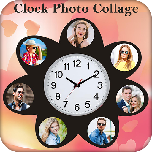 Clock Photo Collage Maker (app)
