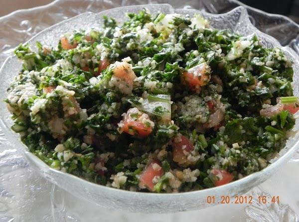 Tabouli Recipe