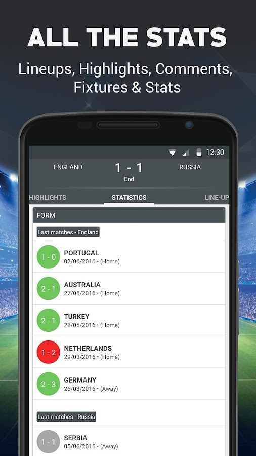 Live Football- screenshot