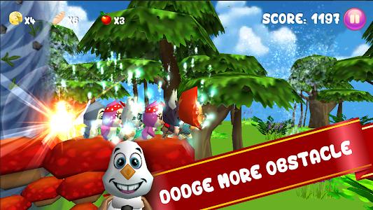 Baby Pet Run: Jungle Adventure screenshot 2