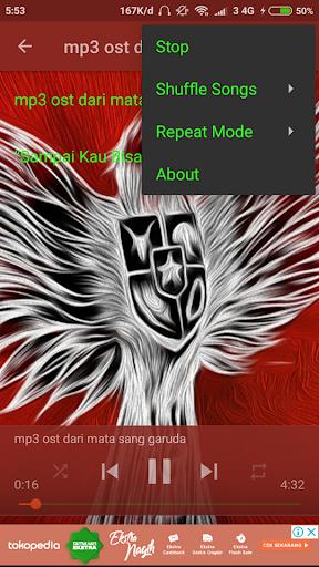 Ost Tendangan Garuda Mp3 1.0 screenshots 3