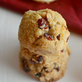 Orange Cranberry Sugar Cookies.