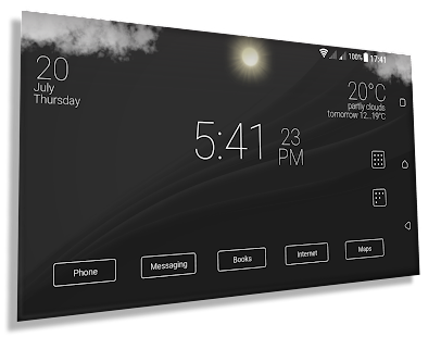 App Final Interface - launcher + animated weather APK for Windows Phone