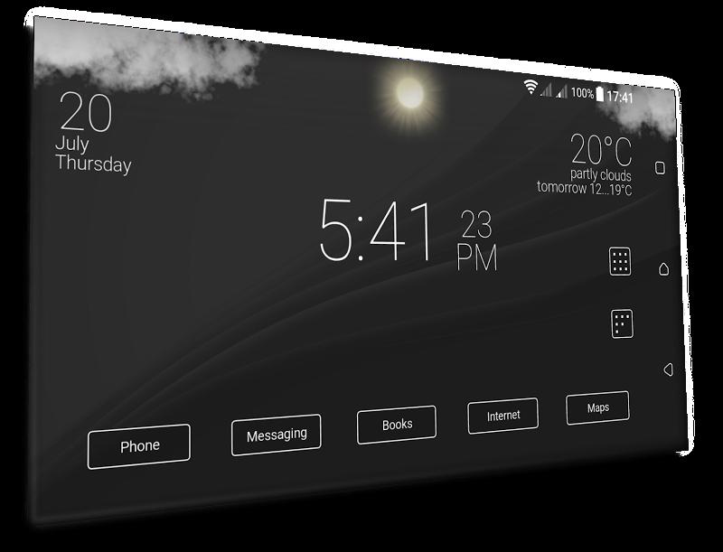 Final Interface - launcher + animated weather Screenshot 4