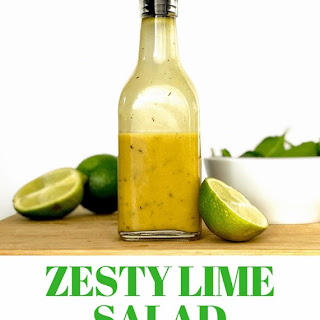Simple Zesty Lime Salad Dressing.