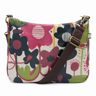 Wild Floral Cross Body Bag