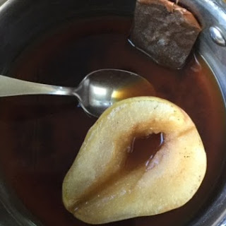 Earl Grey Poached Pear Recipe
