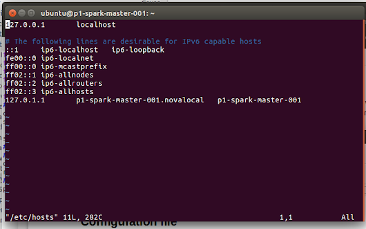 Set up cluster : Spark 1.3.1 en Ubuntu 14.04