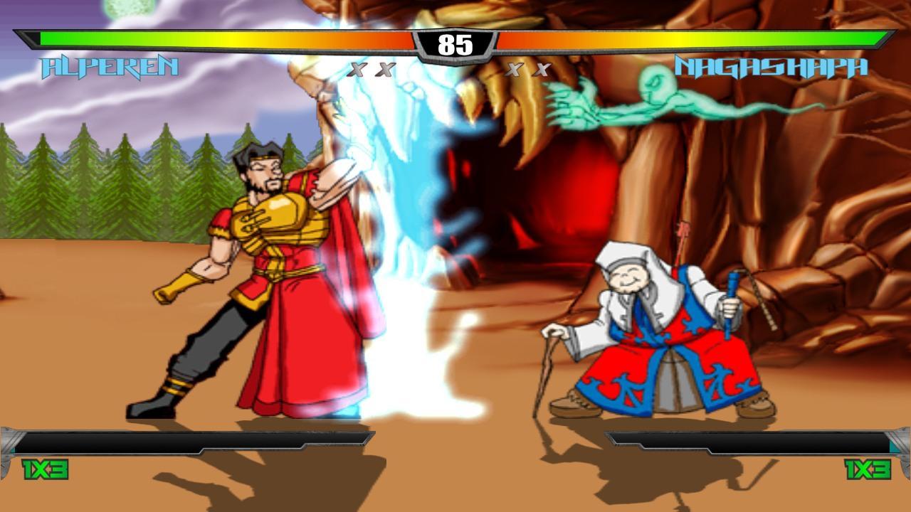 Slashers Intense 2D Fighting Screenshot