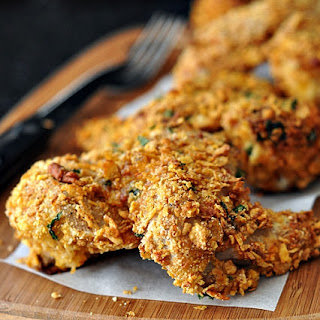 "NQN's Crunchy Southern ""Deep Fried"" Chicken"