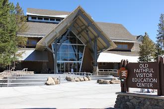 Photo: Old Faithful Visitor Center Grand Opening - Yellowstone National Park, Wyoming