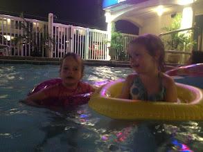 Photo: Kids in pool last weekend of June 2013