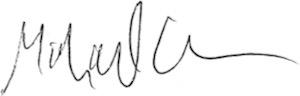 Michael's signature