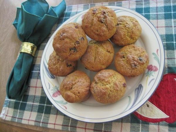 Cranberry-orange Muffins,  Gluten Free Recipe