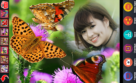 Butterfly Photo Frame 2016 1.1 screenshot 913080