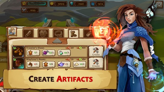 Braveland Heroes Mod Apk Download For Android and Iphone 3