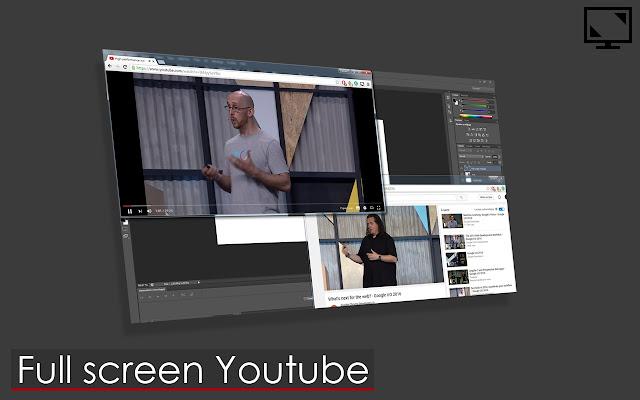 Full screen Youtube