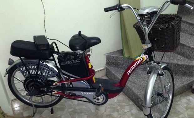 Hướng dẫn sạc xe đạp điện Trần Phú