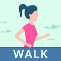Walking for weight loss app icon