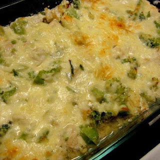 Chicken and Broccoli Cheesy Casserole – Low Carb.
