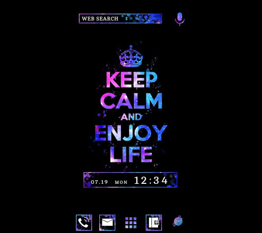 Keep Calm and Enjoy Life Theme 1.0.0 Windows u7528 1
