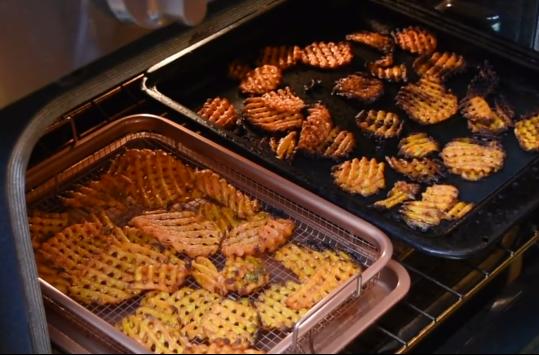 Copper Crisper Frozen Fries Test 3