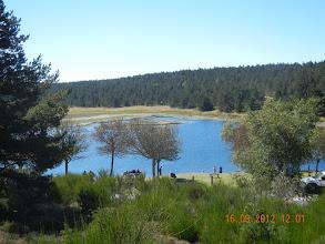 Photo: l'étang du Barrandon
