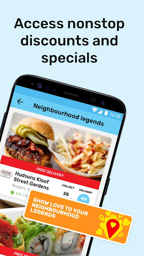 Mr D Food - delivery & takeaway screenshot 3