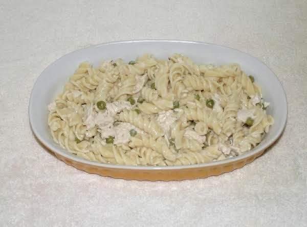 Roasted Garlic Rotelli W/ Chicken