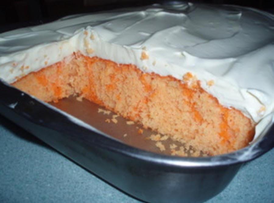 Layered Dessert Recipes With Cake Mix: Creamsicle Cake Recipe 2