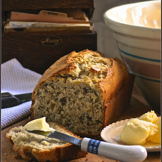 Lemon Rosemary Bread with Pecans.