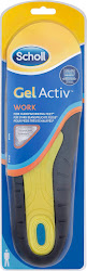 Scholl Gel Activ Insoles - Work