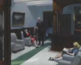 "Photo: Edward Hopper, ""Hotel Lobby"" (1943)"