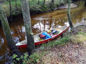 Photo: Our $75 Mohawk canoe.