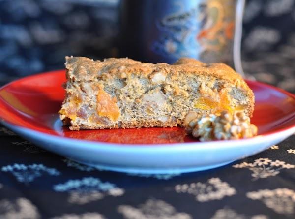 Mazurka - Russian Dried Fruit Cake Recipe