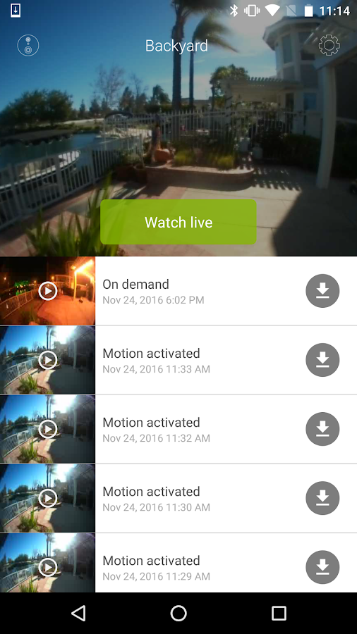 SkyBell HD- screenshot