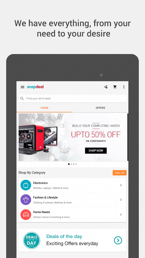 Snapdeal Online Shopping India - screenshot
